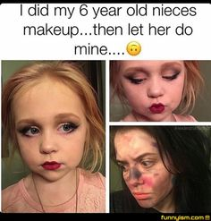 Make up.....fail!