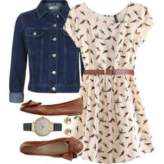 Songbirds are Singin' by polygirl06 on Polyvore featuring Topshop, Olivia Burton, Jules Smith, Maison Boinet, singing and songbirds