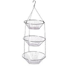 Hang from tree, in tent or trailer to hold ALL sorts of things