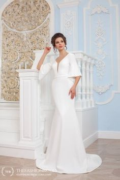 Wedding Gown Guide: Mermaid Soft Construction – The FashionBrides Gowns With Sleeves, Wedding Gowns, Mermaid, Construction, Formal Dresses, Collection, Fashion, Dresses With Sleeves, Homecoming Dresses Straps