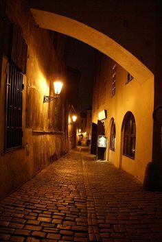 Prague, Czech Republic. Visit Prague, Prague Czech Republic, Countries To Visit, Europe Photos, Dream City, Night City, Beautiful Places In The World, Central Europe, Walkways
