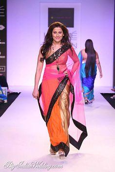 Mandira Bedi party-wear saree collection