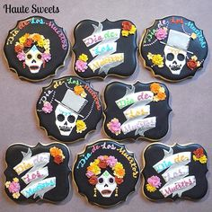 Day of The Dead cookies for Go Bo bake sale | Cookie Connection