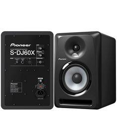 """Pioneer S-DJ60X MONITOR ACTIVO DE ESTUDIO 6"""" """"BASS REFLEX"""" BIAMPLIFICADO BIDIRECCIONAL; 45 Hz-20 kHz; POTENCIA: 70W"""