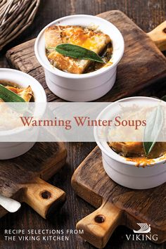 Warm up this season with 8 deliciously comforting soups inspired by destinations around the world, including a French onion recipe worth melting over! Onion Recipes, Soup Recipes, Viking Kitchen, Winter Soups, French Onion, Other Recipes, Crockpot, Slow Cooker, Destinations