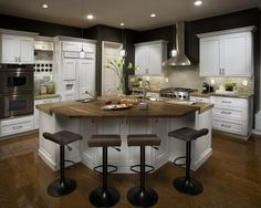 DeWils Just White - contemporary - kitchen cabinets - orange county - DeWils Custom Cabinetry Classic Kitchens, Kitchen Cabinets, Kitchen Cabinets Orange, Home Kitchens, Dining Table In Kitchen, Kitchen Design, Contemporary Kitchen Cabinets, Kitchen Layout, Contemporary Kitchen