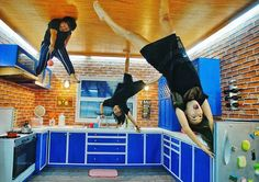 UPSIDE DOWN WORLD – BALI  Kids can get fussy when they feel bored because there is not much to do. So, where is there to go when the rain seems endless and going out to the pool or beach seems like an implausible option? Well, Bali has several fun indoor activities to keep the kids occupied. And, there are some that involve the whole family, which would surely bring a smile to everyone's face.