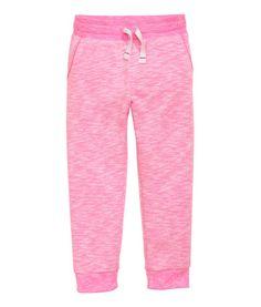 Joggers | Pink melange | Kids | H&M US