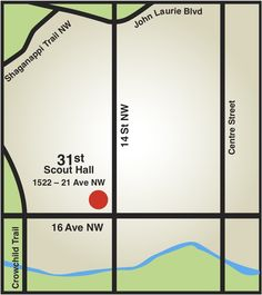 Our Scout Hall is located in the inner Northwest on Ave. NW just west of St. John Laurie, Calgary, Scouts, North West, 21st, Boy Scouts, Boy Scouting, Cub Scouts