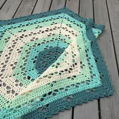 Cloudberry blanket pattern