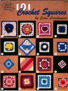101 Crochet Squares - Nicoleta Danaila - Picasa Webalbums