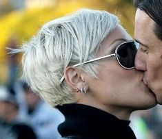 The Silver Fox, Stunning Gray Hair Styles....maybe someday soon