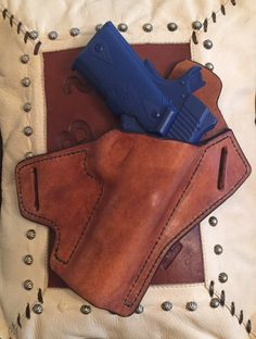 A personal favorite from my Etsy shop https://www.etsy.com/listing/483025432/1911-leather-holster-owb