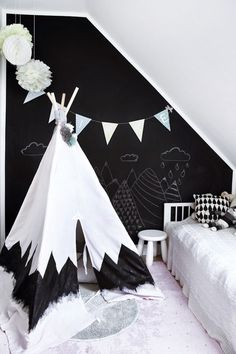 the boo and the boy: teepees and tents #kidsdecor #kidsroom