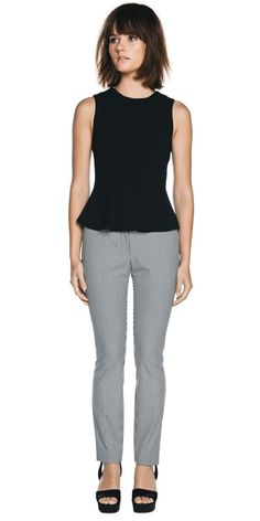 CUE - Detailed Peplum Top C30669 RRP $189.