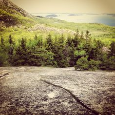 My favorite hike I did, the Beehive Trail, in #AcadiaNationalPark, #Maine #RoadTrip #Travel #ForTheLoveOfWanderlust