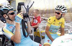 Alessandro Vanotti and Vincenzo Nibali Photo credit © Bettini