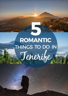 5 romantic things to do in Tenerife