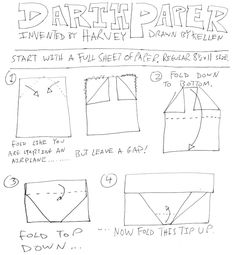 How To Make Origami Star Wars Darth Maul – Origami 2020 Cute Origami, How To Make Origami, Useful Origami, 3d Origami, Star Wars Origami, Origami Stars, Origami Yoda Instructions, Origami Yoda Book, Yoda Images
