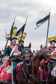 Traditional reenactment by the occasion of 208th anniversary of the battle of Austerlitz