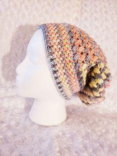 PATTERN / Crochet Slouchy Hat Pattern, PATTERN / Crochet Slouchy Hat Pattern PATTERN / Crochet Slouchy Hat Pattern / Crochet Pattern / Crochet Hat Pattern / Slouchy Hat Pattern / Hat Patter...,  #crochet #Hat #pattern #Slouchy #spiralcrochetpatternswirls Spiral Crochet Pattern, Tie Pattern, Crochet Patterns, Crochet Ideas, Crochet Slouchy Hat, Fingerless Mitts, Moss Stitch, Crochet Hair Styles, Beautiful Patterns