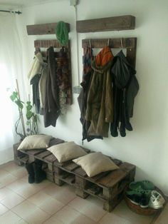 Pallets accessories & furnitures #Furnitures, #Pallets