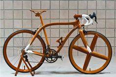 Bike de madeira