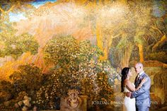 Bride and groom portrait at Atrium at the Curtis Center Wedding. Photos by Jordan Brian Photography.