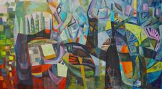 © Kate Elsey 2015<br />Where The Infinite Dwells<br>oil on linen<br>168 x 300 cm<br>$24500 | Sold Perth Western Australia, Unusual Flowers, Infinite, Creatures, Oil, Artists, Quilts, Abstract, Canvas