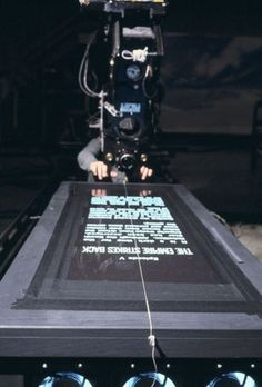 Behind the Star Wars beginning.