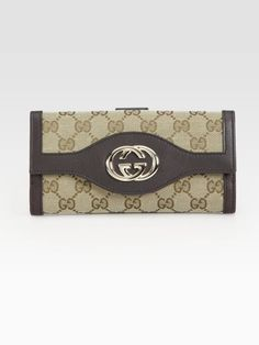Gucci Sukey Continental Wallet