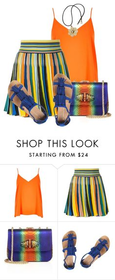 """Kaleidoscope"" by seafreak83 on Polyvore featuring River Island, Missoni, Christian Louboutin, Dorothy Perkins and NOVICA"