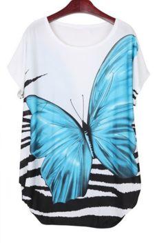 Blue Butterfly Dress