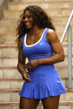 I am so happy for Serena Williams for winning this title again for the second time at she also became the oldest woman to win a major title since Martina Navratilova at Wimbledon in 1990 at age… Serena Williams Photos, Serena Williams Tennis, Venus And Serena Williams, Tennis Players Female, My Black Is Beautiful, Gorgeous Women, Tennis Fashion, French Open, Athletic Women