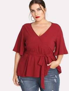 Shop the latest trends and classic styles at Life of Zaza: a boutique for society's stylish, sexy and smart women. Plus Size Blouses, Plus Size Dresses, Plus Size Outfits, Looks Plus Size, Plus Size Model, Curvy Girl Fashion, Plus Size Fashion, Dress Shirts For Women, Clothes For Women