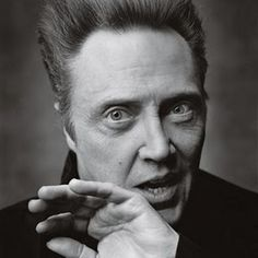 Love this portrait by Mark Seliger - Christopher Walken Foto Face, Mark Seliger, Don't Fear The Reaper, Anthony Kiedis, Hollywood, John Travolta, Bruce Willis, Celebrity Portraits, Famous Portraits