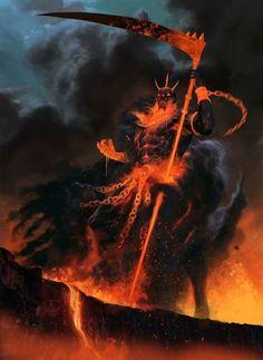 Dark Fantasy Art, Fantasy Armor, Fantasy Monster, Monster Art, Fantasy Character Design, Character Art, Dark Father, Grim Reaper Art, Arte Obscura