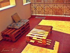 DIY pallet furniture   sofa   table   swing