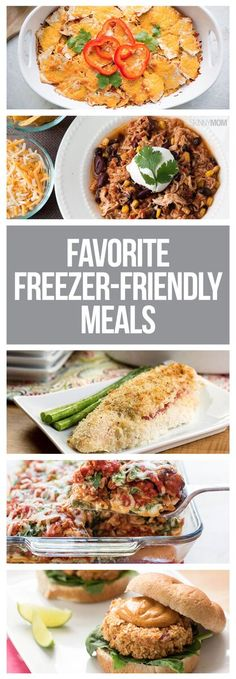 14 freezer-friendly meals we know your family will love!