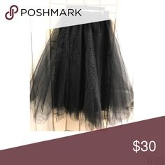 Tulle skirt Tulle black skirt Windsor Skirts