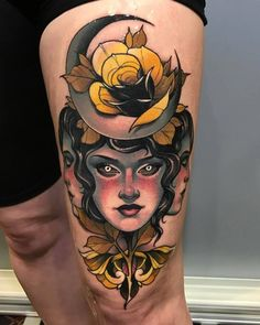 Best of Saturday and finally BEST OF SHOW at the amazing Limerick Tattoo Convention. Artista Tatuador: Debora Cherrys
