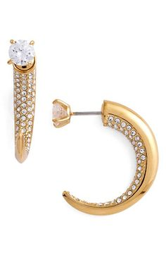 Nadri 'Starry Night' Drop Back Earrings available at #Nordstrom