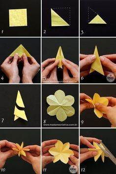 The Effective Pictures We Offer You About Paper Flowers diy A quality picture can tell you many things. You can find the most beautiful pictures that can be presented to you about Paper Flowers christ Simple Paper Flower, Paper Flower Wreaths, How To Make Paper Flowers, Tissue Paper Flowers, Origami Flowers, Flower Crafts, Diy Flowers, Fabric Flowers, Flowers Decoration