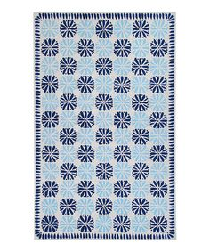Take a look at this Navy & Ivory Inspired Classics Wool Rug by Surya on #zulily today!