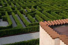 Borges Maze, Venice.    La terrazza sul labirinto - The terrace on the labyrinth by Immacolata Giordano, via Flickr