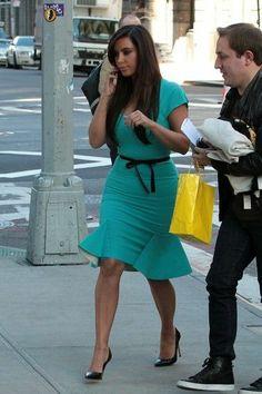 Kim Kardashian Fashion and Style - Kim Kardashian Dress, Clothes, Hairstyle - Page 16