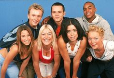 S Club 7 came in at the end of the 90's... haha! I use to think the guys were attractive...
