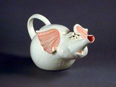 Pony Teapot, Elephant Teapot, Pig Teapot, Cow Teapot, Lamb Teapot - Handmade by Carol Meyers Pottery