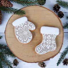 Купить пряники новогодние рукавичка и сапожок - варежки, варежка, сапоги, Сапожки, сапожок, пряник