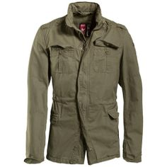 Surplus Delta Britannia is light & comfortable weatherproof jacket, made of high quality cotton in classic army field jacket style. It goes with total of 6 pockets, high collar with concealed hood, zip front with storm flap, waist adjuster, button cuffs, back slit with press stud, under arm vents & shoulder epaulettes. Perfect for everyday wear. Buy now only at Military1st.co.uk for £49.99.